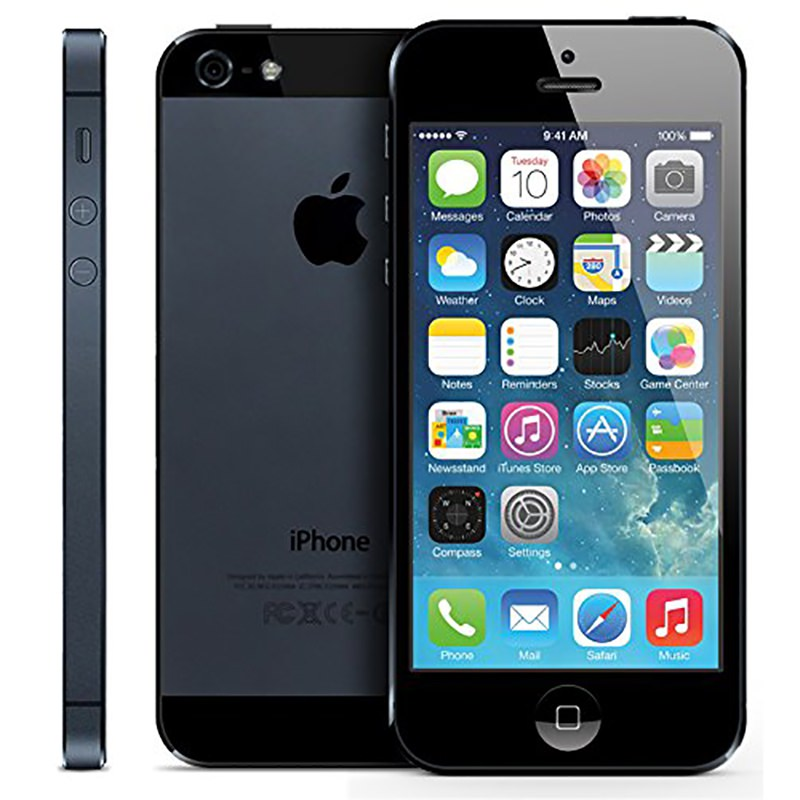 used iphone 5 apple iphone 5 16gb black refurbished city ua 13209