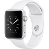 Фото - Цена Apple Watch Series 2 42mm Silver Aluminum Case with White Sport Band (MNPJ2)