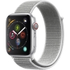 Фото - Цена Apple Watch Series 4 GPS + LTE 44mm Silver Alum. w. Seashell Sport l. Silver Alum. (MTUV2/MTVT2)