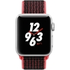 Фото - Apple Watch Series 3 Nike+ GPS + LTE 42mm Silver Aluminum Case/Bright Crimson/Black SportLoop (MQMG2)