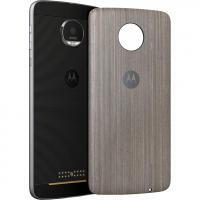 STYLE SHELL MOTO MOD Silver Oak Wood (для Moto Z/Moto Z Play)