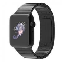 Apple Watch 38mm Space Black Case with Space Black Stainless Steel Link Bracelet (MJ3F2) (US)