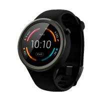 Motorola 360 2nd Gen. 45mm Sport Black (00865NARTL) (US)