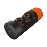 Motorola VerveOnes+ True Wireless Earbuds (Orange Black)