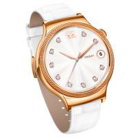 Huawei Watch Elegant White Strap Rose Gold (US)