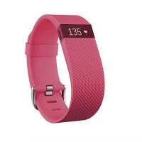 Fitbit Charge HR Large Size Fitness Tracker Pink (US)