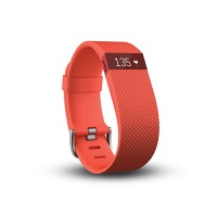 Fitbit Charge HR Large Size Fitness Tracker Tangerine (US)