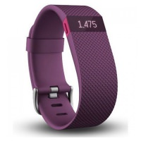 Fitbit Charge HR Small Size Fitness Tracker Plum (US)