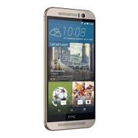 HTC One M9 (Refurbished) C Gold on Silver