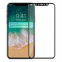 BASEUS Tempered Glass iPhone X Black