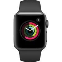Apple Watch Series 2 42mm MP062 Space Grey Aluminium Case Black Sport Band (US)