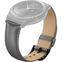 SAMSUNG Leather Band for Gear S2 Classic (Gray)