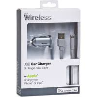 JUST WIRELESS Lightning Car Charger Grey
