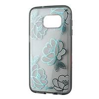 SONIX Clear Coat Case for Samsung Galaxy S7 Blue Florette US
