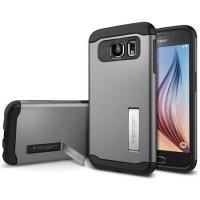 Spigen Slim Armor Case for Samsung Galaxy S6 Gunmetal