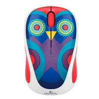 Logitech M325 Wireless Mouse Ophelia Owl