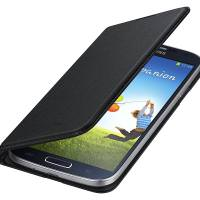 Samsung Wallet Flip Cover for Galaxy S4 Black