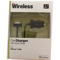 JUST WIRELESS 03124 30-PIN CAR CHARGER  (BULK)