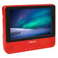 Digiland DL9002 2-in-1 Android Tablet + DVD Player 1GB 16GB 9in Red