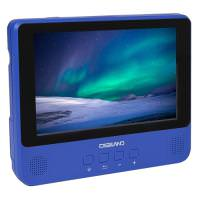 Digiland DL9002 2-in-1 Android Tablet + DVD Player 1GB 16GB 9in Blue