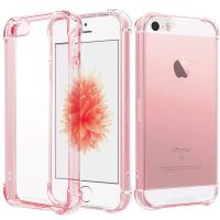 MOXYO Case for iPhone SE Clear/Pink