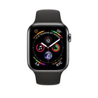 Apple Watch Series 4 LTE Black Sport Band 44mm Stainless Steel (MTX22) (US)
