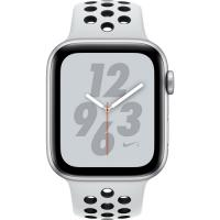 Apple Watch Series 4 Nike Black Band 44mm Silver Aluminum (MU6K2) (US)