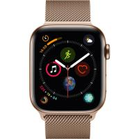 Apple Watch Series 4 Gold Milanese Loop 44mm Gold Stainless Steel (MTVQ2) (US)