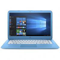 HP Stream 14-AX010wm Aqua Blue (X7S44UA) D