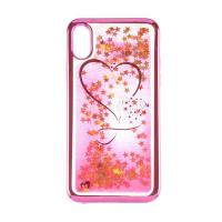 Beckberg Aqua Series Case for Apple iPhone X Hearts Pink