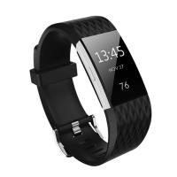 Kutop Bracelet for Fitbit Charge 2 Black (Open Box)