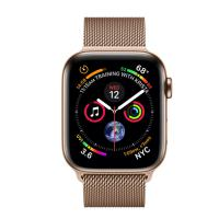 Apple Watch Series 4 GPS + LTE 40mm Gold Steel w. Gold Milanese l. Gold Steel (MTUT2- MTVQ2)