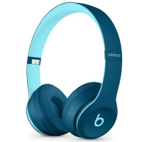 Beats by Dr. Dre Solo3 Wireless On-Ear Headphones Pop Blue (MQ392)