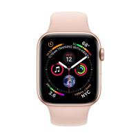 Apple Watch Series 4 GPS + LTE 44mm Gold Alum. w. Pink Sand Sport b. Gold Alum. (MTV02, MTVW2)