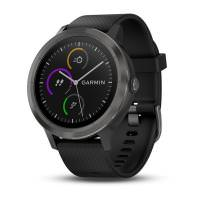 Garmin Vivoactive 3 Slate with Black Silicon (010-01769-B1)