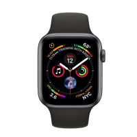 Apple Watch Series 4 GPS + LTE 40mm Gray Aluminium/Black Sport band (MTUG2, MTVD2) (Refurbished)