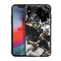 LAUT Чехол-накладка LAUT MINERAL GLASS for iPhone X Black