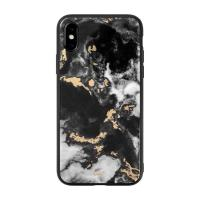 LAUT Чехол-накладка LAUT MINERAL GLASS for iPhone XS max Black