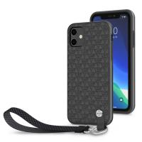 Moshi Altra Slim Case with Wrist Strap iPhone 11 Shadow Black (99MO117005)