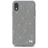 Moshi Vesta Textured Hardshell Case for iPhone XR Herringbone Grey (99MO116011)