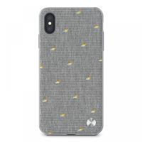 Moshi Vesta Slim Hardshe Case iPhone XS Max Pebble Grey (99MO116012)