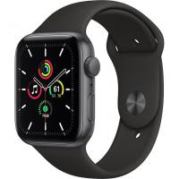 Apple Watch SE GPS 44mm Space Grey Aluminum Case w. Black Sport B. (MYDT2)