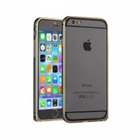 Devia Buckle Curve Bumper for iPhone 6 Gun Black