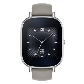 Фото - Asus ZenWatch 2 WI502Q Silver Khaki Leather (Refurbished)