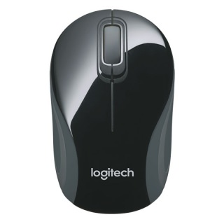 Logitech M187 Wireless Mini Mouse Black ОЕМ