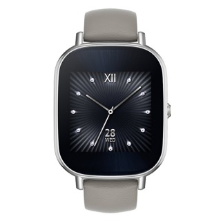 Asus ZenWatch 2 WI502Q Stainless Steel Silver/Beige Leather (Refurbished  by Asus)