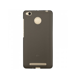 Original Silicon Case Xiaomi Redmi 3x/3s/3 Pro Black