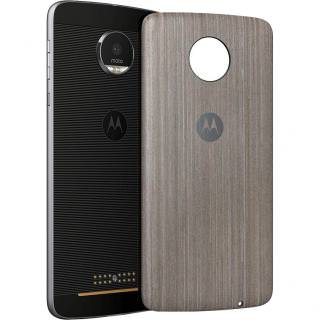Фото - STYLE SHELL MOTO MOD Silver Oak Wood (для Moto Z/Moto Z Play)