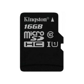 KINGSTON 16GB microSDHC C10 UHS-I R45/W10MB/s