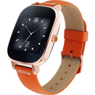 Фото - ASUS ZenWatch 2 WI502Q Rose Gold/Orange Leather